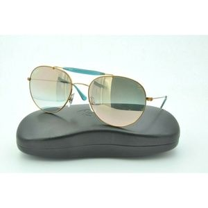 Ray-Ban RB 3540 Sunglasses 198/7Y Round Bronze